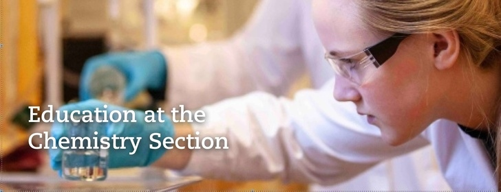 At the Chemistry Section we offer one bachelor program and five international masters programs.